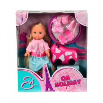 Кукла Эви на каникулах