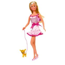 Кукла Штеффи с собачкой