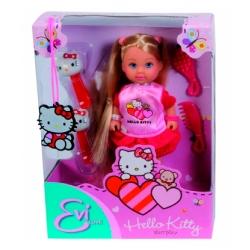 Кукла Эви Hello Kitty аксессуарами для волос
