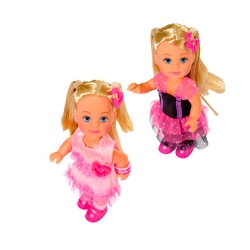 Кукла Эви в боа