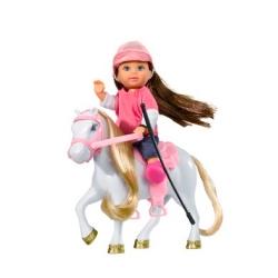 Кукольный набор Эви и пони