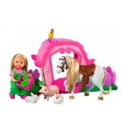 Кукольный набор Эви и ферма