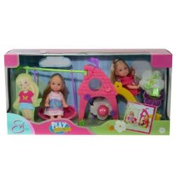 Кукольный набор Эви на площадке