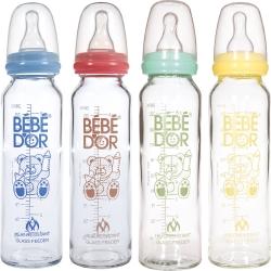 Стеклянная бутылочка 240 мл термоустойчивая
