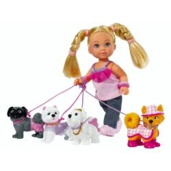 Эви Собаковод с набором собак
