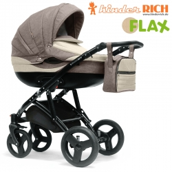 Коляска Kinder Rich Blaze Flax Лен